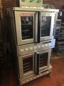 Blodgett Dfg 200 es Double Full size Gas Convection Oven Used