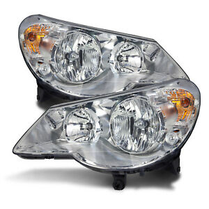Fits 07 10 Chrysler Sebring Sedan 08 10 Convertible W xenon Halogen Headlights