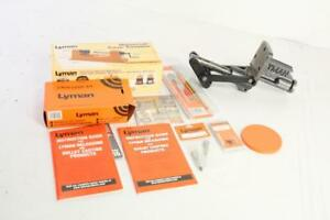 Lyman T-Mag Expert Kit Deluxe Reloading Press Kit w Case Lube and Trimmer Kits.
