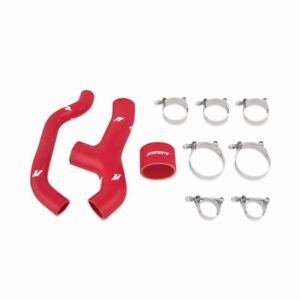 Mishimoto Red Silicone Intercooler Hose Kit For 06 07 Wrx 04 08 Forester Xt