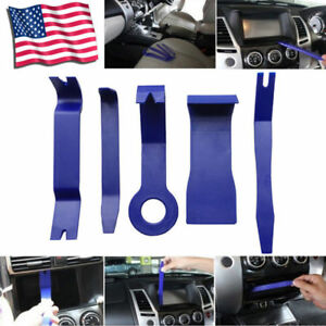 Car Suv 5pcs Interior Door Moulding Kit Removal Panel Dash Nylon Automotive Tool
