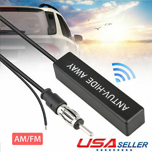 Universal Electronic Stereo Am Fm Radio 12v Hidden Amplified Antenna