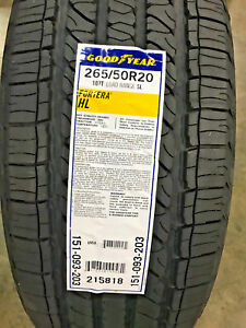 4 New 265 50 20 Goodyear Fortera Hl Tires