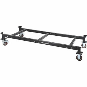Strongway Heavy duty Drum Rack Dolly Holds 3 Drum Racks 3300 lb Capacity