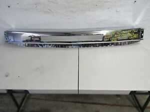 2007 2008 2009 2010 Chevy Silverado 1500 Front Bumper Chrome After Market