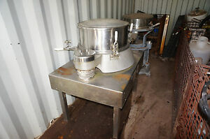 Russell Fine Stainless Steel Vibratory Sieve Model A16580
