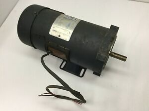 Leeson C4d28fk5c Dc Motor Voltage 90vdc Power 1hp 2500rpm Shaft 5 8