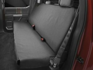 Weathertech Medium Highback Bench Seat Protector In Black For Trucks Cars Suvs