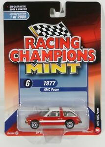 2018 Rc 1 64 Racing Champions Mint 2a Red 1977 Amc Pacer Nip