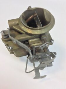 Nos Stromberg Ww Carburetor 3 218 1961 1969 Dodge Truck 273 313 318 361 Engines
