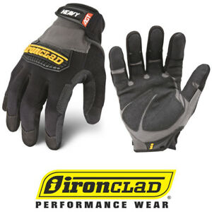 Ironclad Industrial Work Gloves Hug Heavy Duty Work Gloves 12 Pair Bulk Case