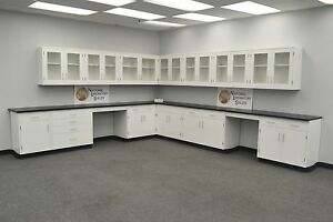 laboratory Wall Furniture 29 Base 24 Cabinets In Stock