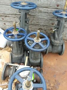 Nibco 5inch Cast Iron Gate Valves With Bronze Seat plug And Stem 6 Available