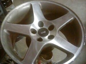Wheel 17x9 Cobra Supercharged 5 Spoke Machined Face Fits 03 04 Mustang 4950310