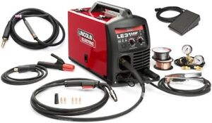 Lincoln K3461 1tp Le31mp Multiprocess Wirefeeder Welder With Tig Gun And Pedal