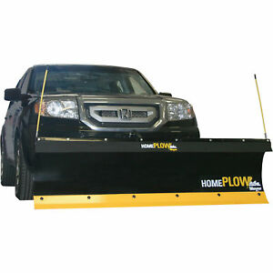 Home Plow By Meyer Elect powered Plow Auto Angling System Wireless Control