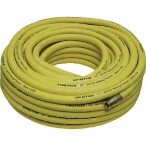 Goodyear Rubber Air Hose 1 2in X 100ft 300 Psi 46566