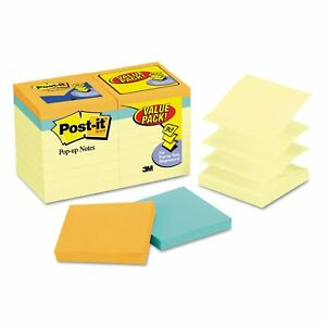Post it Pop up Notes Original Pop up Notes Value Pack 3 X 3 Canary cape Town
