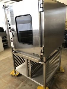Alto Shaam Electric Combi Combitherm Oven Steamer Hud 10 18 Convotherm Used