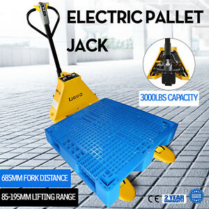 1 5t 3300lbs Electric Pallet Jack Stable Station Electromagnetic