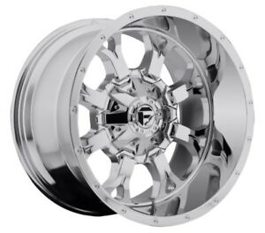 18x9 Krank D516 6x135 6x5 5 Et20 Chrome Brand New Wheels set 4