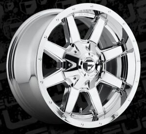 18x9 Maverick D536 6x135 6x5 5 Et20 Chrome Brand New Wheels set 4