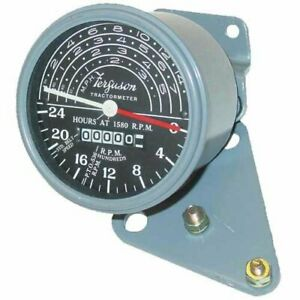 Tachometer Gauge With Brackets Massey Ferguson To20 To30 1751311m1