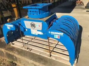 New 2017 Hammer Grp1500 Rotating Grapple 360 Degree Rotation 18 25 Ton Excavator