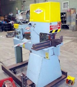 40 ton Metal Muncher Model Mm 40 Hydraulic Ironworker