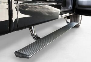 Amp Research Powerstep Electric Running Boards For 2009 2014 Ford F 150 All Cabs