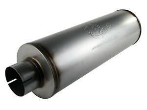 Afe Power 49 91002 Mach Force xp 409 Stainless Steel 30 Muffler Inlet Outlet 4