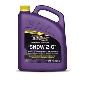 Royal Purple 04511 One Gallon Snow 2 C Synthetic Snowmobile Engine Oil