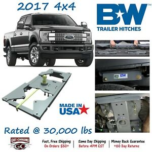 Gnrk1117 B w Turnoverball Gooseneck Hitch Ball Ford Super Duty 4wd 2017 2019