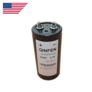 Brand New 1 Pc Super Farah Capacitor 2 7v 3000f 65x135mm Free Shipping Us Stock