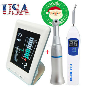 Usa 4 5 lcd Dental Apex Locator Root Canal Meter Teeth Pulp Tester Contra Angle
