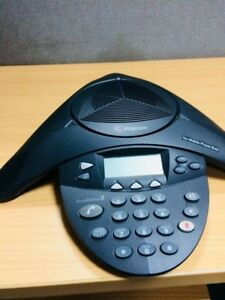 Polycom Soundstation 2w 2201 16200 601 Conference Phone With Mic Extensions