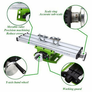 Worktable Milling Machine Tool Compound Cross Working Table Drill 31 90cm Mini