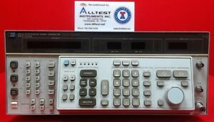 Hp Agilent 8663a Rf Synthesized Generator 100khz To 2560mhz 3017a01734
