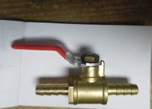 Brass Ball Valve 1 4 Barb X 1 4 Barb qty 32 x2