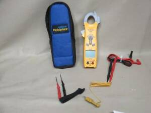Fieldpiece Sc420 Digital Clamp Multimeter Hvac Tester With Leads