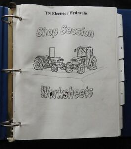 New Holland Tn55 Tn65 Tn70 Tn75 Tractor Electrical Hydraulic Service Manual