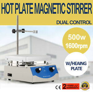 Sh 3 Hot Plate Magnetic Stirrer Mixer Stirring Laboratory 3000ml W heating Plate