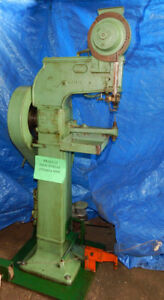 National Rivet Model S Rivet Machine With Foot Petal