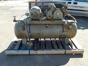 Worthington 5hp Air Compressor 1750 1460rpm 220 440 220 440volt 254frame 3phase
