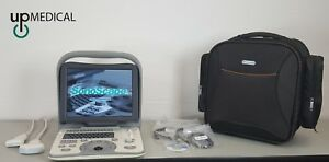 Portable Sonoscape A6 Ultrasound Machine System With 2 Transducer Probes