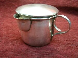 Lopez Mexico Sterling Silver Baby Cup With Spout And Cover Nicely