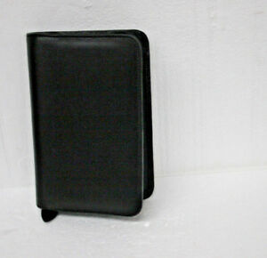 Day Timer Leather Planner Organizer Case Refillable 5 1 2 X 8 1 2