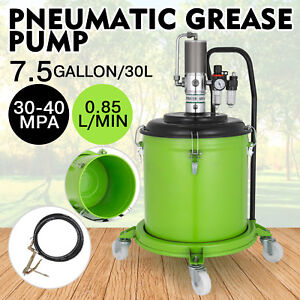 7 5 Gallon Grease Pump Air Pneumatic 30l High Pressure Air Operated Spray Gun
