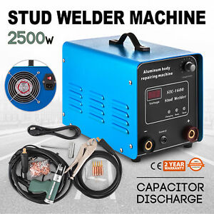 Capacitor Discharge Stud Bolt Plate Welder Machine Machinery Parts Sign 108000uf