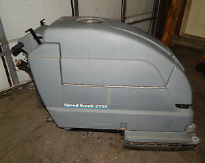 Nobles Speed Scrub 2701 Model Ss2701 Floor Scrubber 24vdc 50amp